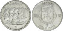 Belgium 100 Francs - 4 King - 1948 - Silver - VF