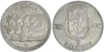 Belgium 100 Francs - 4 King - 1950 - Silver - VF - French text