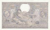 Belgium 100 Francs Kg Albert & Qn Elisabeth - 1943 - AU - P.107