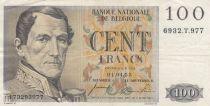 Belgium 100 Francs Leopold I - 01-04-1955 - VF - P.129b