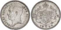 Belgium 20 Francs Albert I - 1934 - Silver - Text in dutch