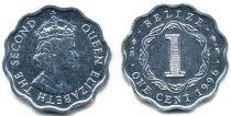 Belize 1 Cent Elisabeth II - 1996