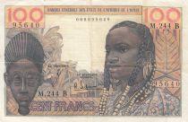 Bénin 100 Francs masque  - Bénin - Série M.244