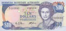 Bermuda 10 Dollars Elizabeth II - 1989 - P.36 - a.UNC