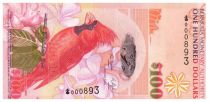 Bermuda 100 Dollars Red Cardinal Birds - House of Assembly