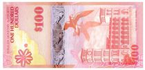 Bermuda 100 Dollars Red Cardinal Birds - House of Assembly