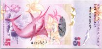 Bermuda 5 Dollars Blue Marlin - Somerset Bridge - 2009