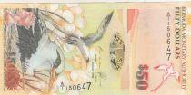 Bermudes 50 Dollars Oiseaux Tropicaux - Eglise St Peter - 2009