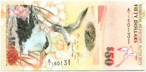 Bermudes 50 Dollars Oiseaux Tropicaux - Eglise St Peter
