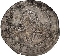 Besancon 2 Gros Arms - Bust of Charles V - 1623