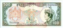 Bhoutan 100 Ngultrum,  Jigme Dorji Wangchuk - 1994 - P.20