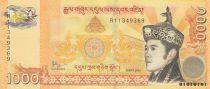Bhoutan 1000 Ngultrum J. Doriji Wangchuk - Palais Tashichho - 2016 - Neuf - P.34