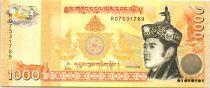 Bhutan 1000 Ngultrum J. Doriji Wangchuk - Tashichho Palace - 2008