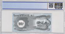 Biafra 10 Shillings Palmier - Usine - 1968 - PCGS 67 OPQ