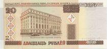Biélorussie 20 Roubles Banque Nationale - 2000