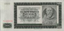 Bohéme et Moravie 1000 Korun 1942 Peter Parler