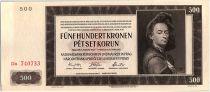 Bohéme et Moravie 500 Korun  - Peter Brandl - 1942