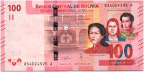Bolivia 100 Bolivianos  Bolivian Heroes  - Parrots - ND (2019) - UNC