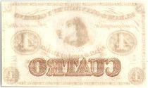 Bolivia 4 reales Bolivianos, Dog - 1869