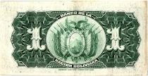 Bolivie 1 Boliviano, Mercure  -  1911