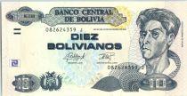 Bolivie 10 Pesos Bolivianos, Cecilio Guzman de Rojas - ND (2015)