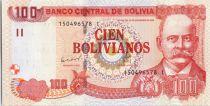 Bolivie 100 Pesos Bolivianos, Gabriel Rene Moreno - ND (2015)