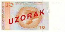 Bosnia-Herzegovina 10 Convertible Maraka Maraka, A. Santic