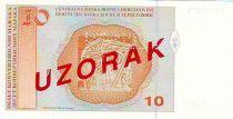 Bosnia-Herzegovina 10 Convertible Maraka Maraka, M. M. Dizdar