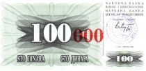 Bosnia-Herzegovina 100 Dinara - Arm - Travnik - 1993