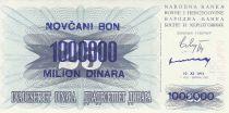 Bosnia-Herzegovina 1.000.000 Dinara -