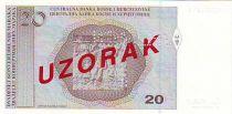Bosnia-Herzegovina 20 Convertible Maraka Maraka, A. B. Simic