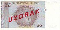 Bosnia-Herzegovina 20 Convertible Maraka Maraka, F. Visjic