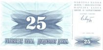 Bosnia-Herzegovina 25 Dinara - Arms - 1992