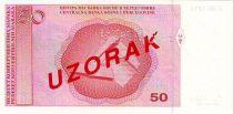Bosnia-Herzegovina 50 Convertible Maraka Maraka, I. Ducic