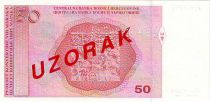 Bosnia-Herzegovina 50 Convertible Maraka Maraka, M. C. Catic