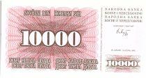 Bosnia-Herzegovina 5000 Dinara  Pink - 1994 - Reduced size