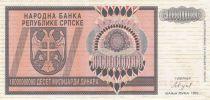 Bosnie-Herzégovine 1 000 000 000 Dinara 1993 - Armoiries - Rép serbe de Bosnie