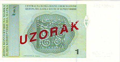 Bosnie-Herzégovine 1 Convertible Maraka Maraka, F. Jukic