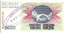 Bosnie-Herzégovine 1000 Dinara - Pont Mostar - 1992 - UN CIV POL