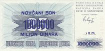 Bosnie-Herzégovine 1.000.000 Dinara