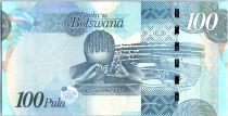 Botswana 100 Pula Sebeli I, Bathoen I, Khama III - 2012