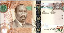Botswana 50 Pula Sir Seretse Khama - Delta Okawango - 2014