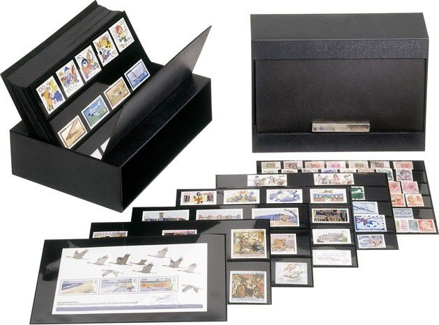 Box for stamps or banknotes