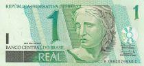 Brasile 1 Real Liberty, White-necked hummingbirds ND (2003-)