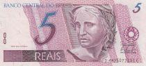 Brasile 10 Reais Liberty - Great Egret - ND (1997-)