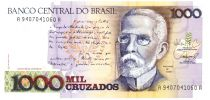Brasile 1000 Cruzados J. Machado - Rio de Janeiro in 1905  - ND (1988)
