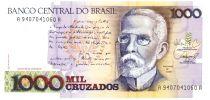 Brasilien 1000 Cruzados J. Machado - Rio de Janeiro in 1905  - ND (1988)