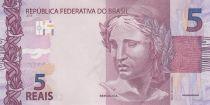 Brasilien 5 Reais Liberty - Garça 2010 (2017)