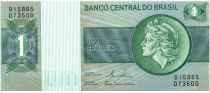Brazil 1 Cruzeiro Liberty - Banco Central bldg - 1980 Various serials