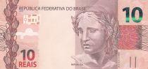 Brazil 10 Reais Liberty - Ara 2010 (2017)